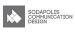 Logo de Sodapolis, communication design