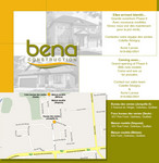 Logo de Bena construction